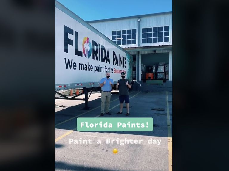 Florida Paints swoops in to develop products with fired Sherwin-Williams employee behind viral TikTok account