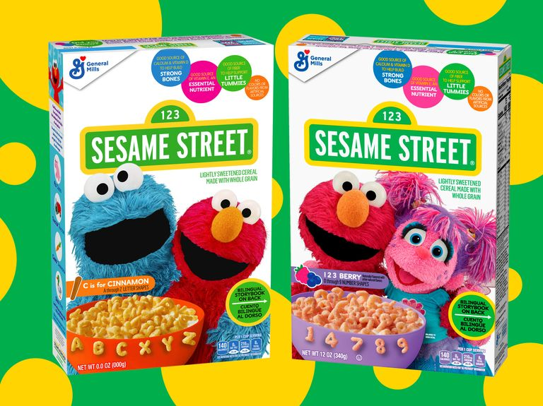 C is for cereal, as General Mills launches Sesame Street products