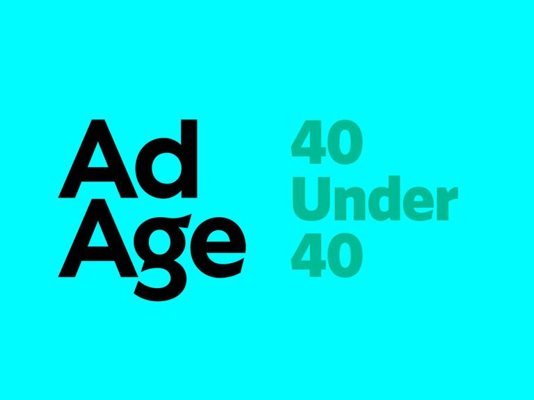 Ad Age's list of the 40 people under age 40 shaping the marketing, media and agency industries