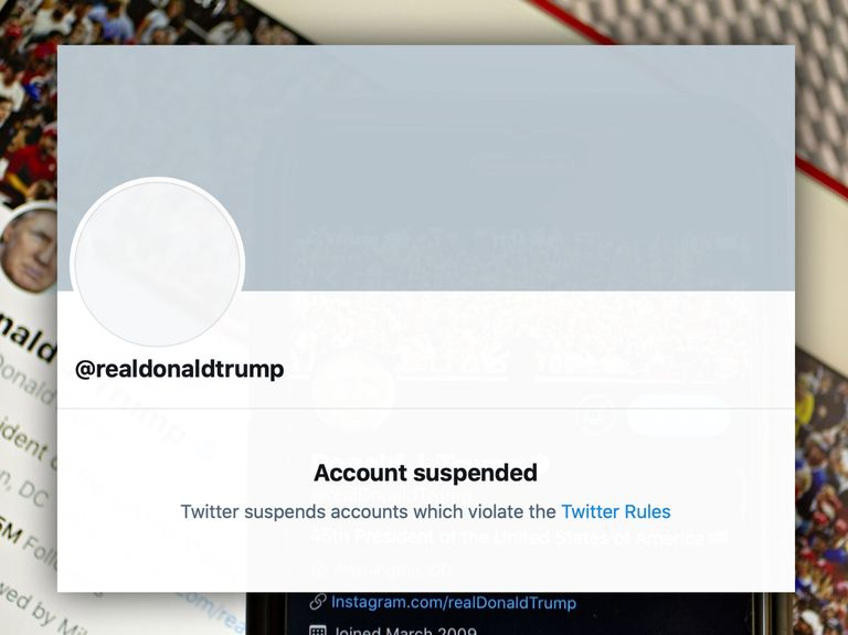 Twitter permanently suspends Trump, citing potential threat to inauguration day