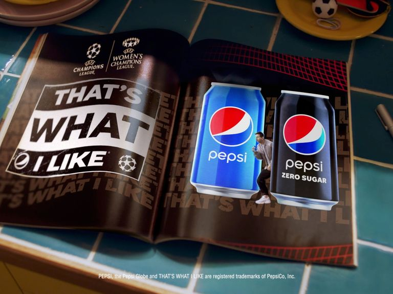 Pepsi taps soccer stars for new UEFA Champions League campaign