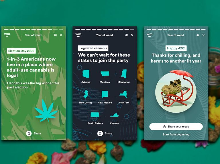 Weedmaps launches 'Year of Weed' experience to catalog consumers' cannabis habits
