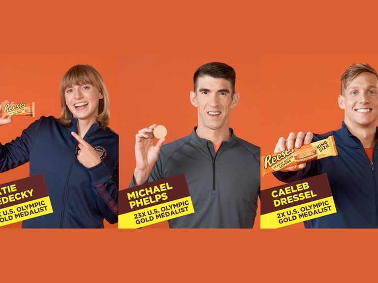 How Reese's reworked its 2020 Olympics campaign starring Michael Phelps after one-year delay