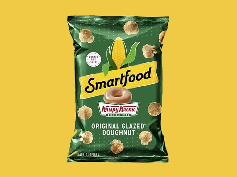 Krispy Kreme, Smartfood launch doughnut-flavored popcorn