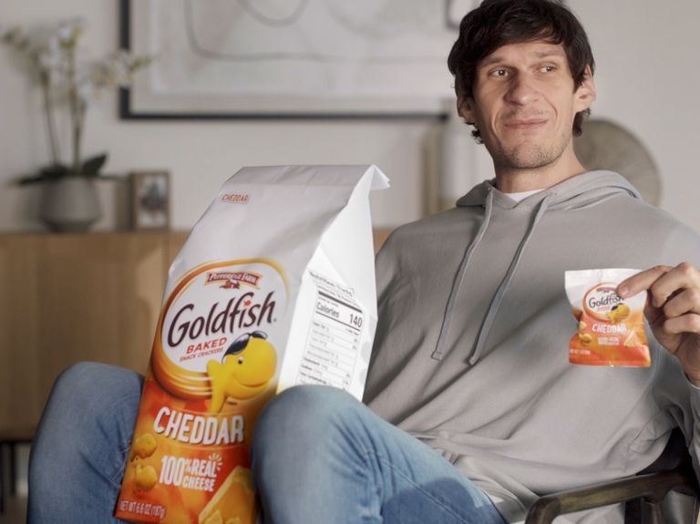Goldfish, courting older snackers, turns to TikTok and turns up the heat