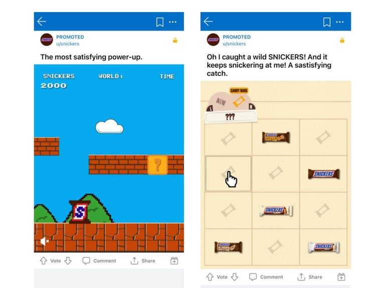 Reddit teaches brands like Samsung and Snickers how to do fan-friendly ads