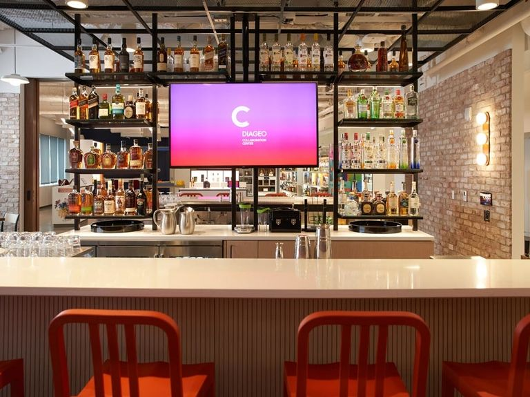 Diageo opens 'Collaboration Center' to improve the consumer experience