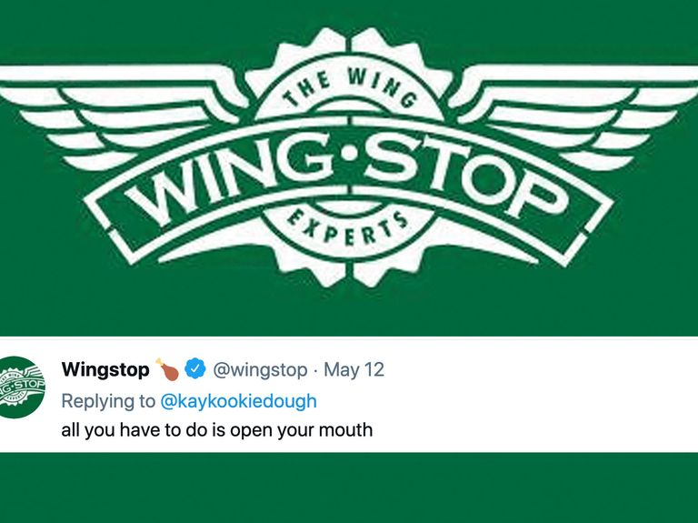 Wingstop's X-rated Tweets turn heads, and Federer serves up Uniqlo pitch: Trending