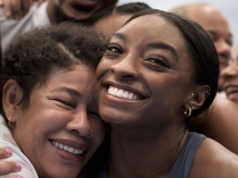 Athleta features Simone Biles and Allyson Felix in new marketing