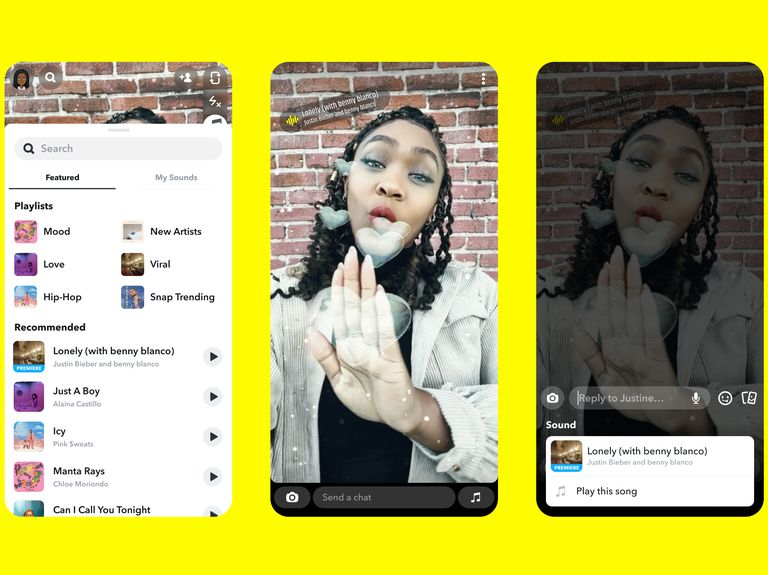 Snapchat snags musical rights to all of Universal Music Group's artists
