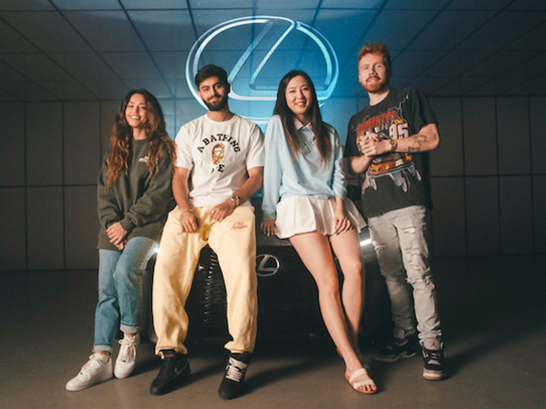 Lexus sponsors esports company 100 Thieves and creator content house