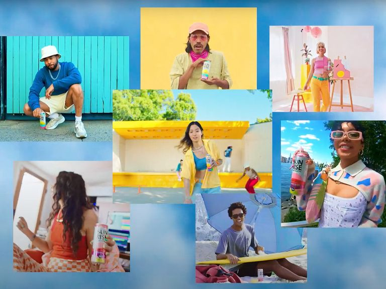Heineken's first campaign for Arizona Sunrise hard seltzer is a colorful creator-driven collaboration