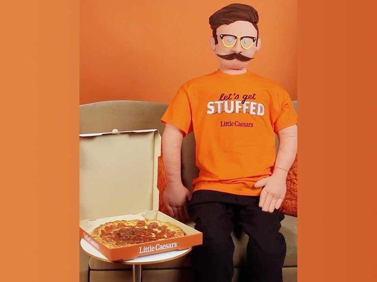 Little Caesars introduces pizza-stuffed TikTok puppets