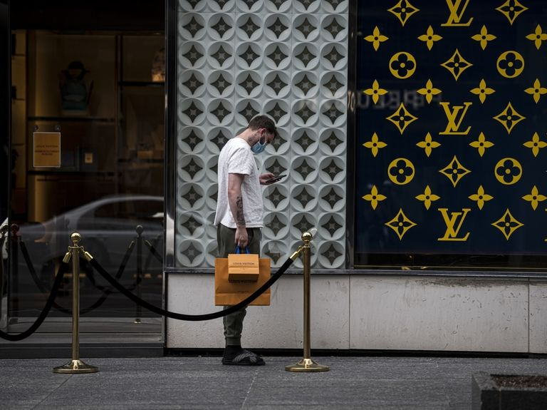LVMH sales soar as shoppers splurge on luxury handbags