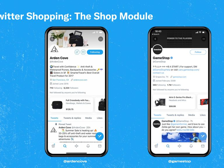 Twitter tests e-commerce with new way to make purchases