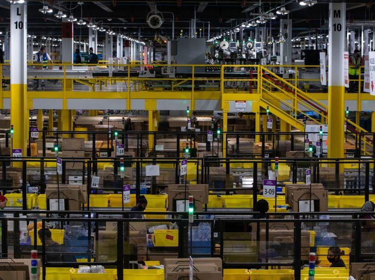 Amazon gets a record $888 million EU fine over data violations
