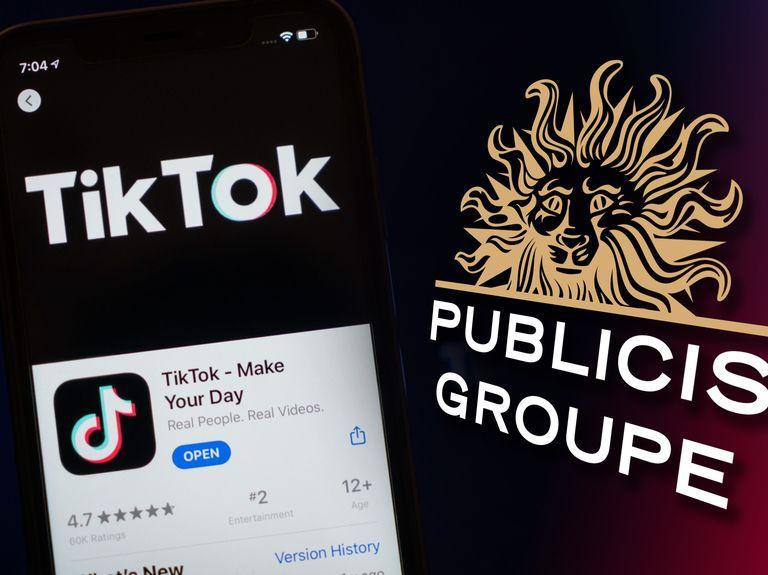 TikTok will teach Publicis clients about viral commerce