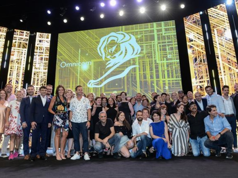 Omnicom upsets WPP's 7-year run as Cannes Lions holding company of the year