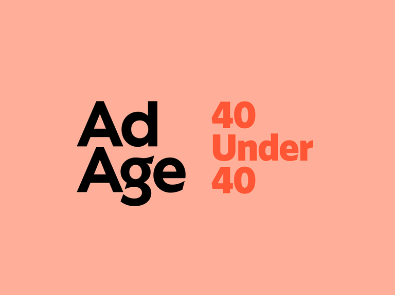 Ad Age 40 Under 40 submissions are open. Enter now.