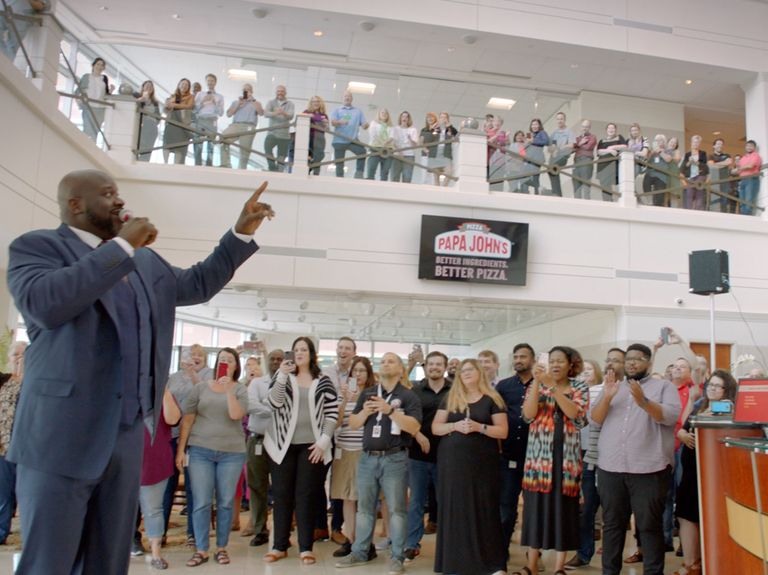 Camp + King delivers 'Better Day' for Papa John's