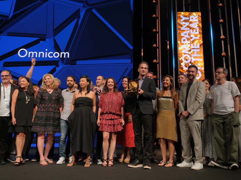 Omnicom wins Cannes Lions Holding Company of the Year again