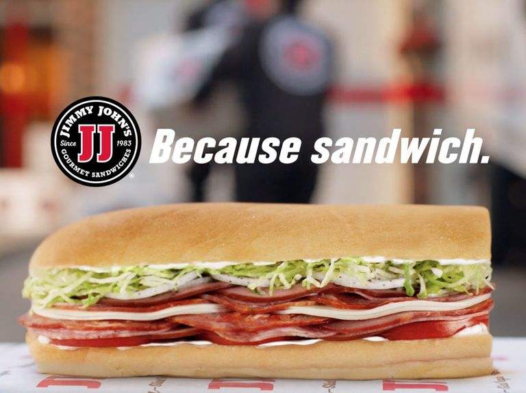 Integrated campaign from WorkInProgress reestablished Jimmy John's home delivery cred