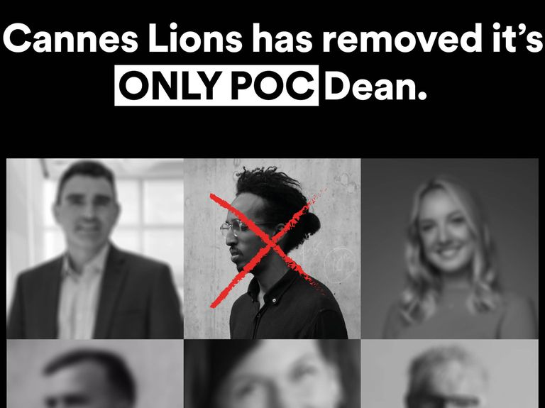 Cannes Lions apologizes after accusations over diversity