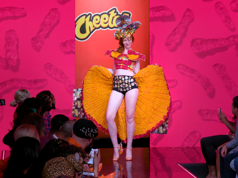 Cheetos enters the fashion fray with 'House of Flamin' Haute'