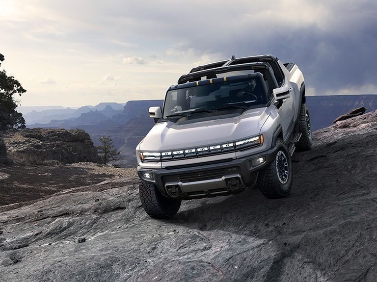 GMC Hummer EV debuts with 350 miles of range, six-figure price