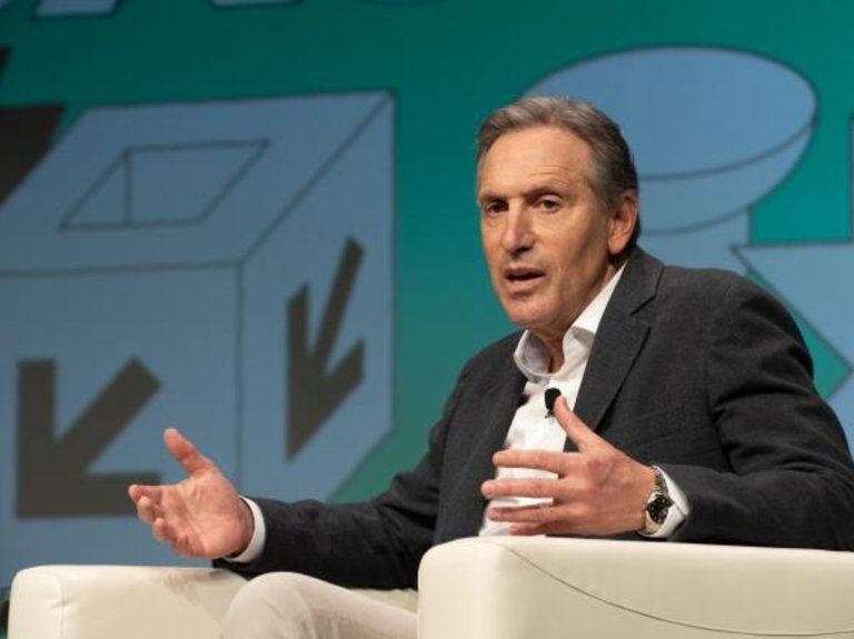 Howard Schultz isn't worried about marketing himself as a potential president