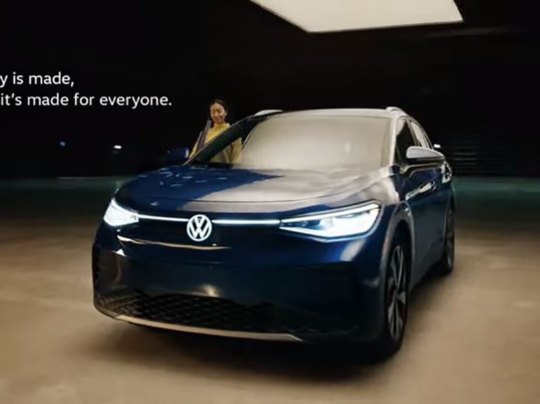 Volkswagen uses populist message in first ad for ID4 electric crossover