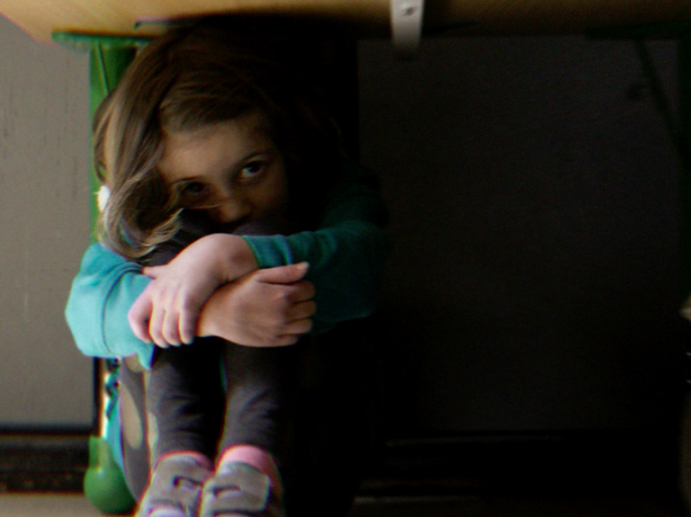Child teaches adults how to prepare for gun violence in campaign that won Grand Prix for Good