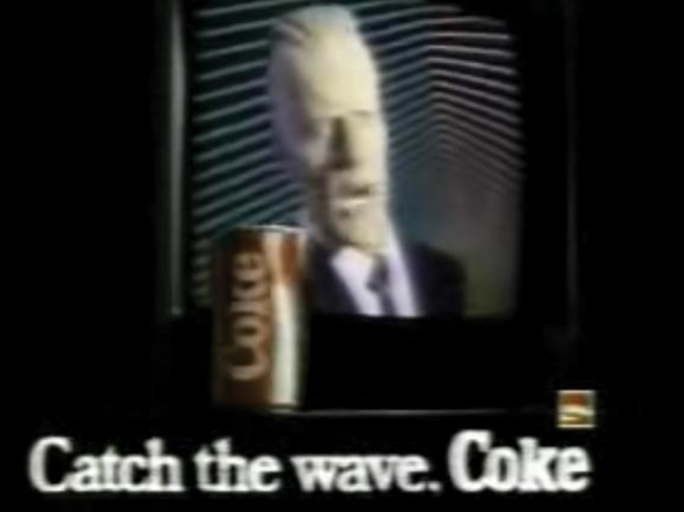 Classic Ad Review: Max Headroom shills for New Coke