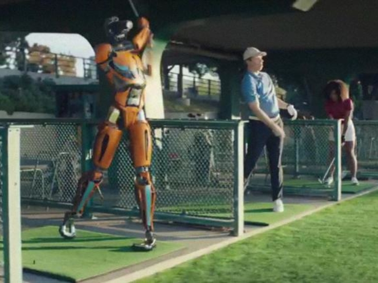 Watch Michelob Ultra's Super Bowl ad featuring robots and a Latin pop star