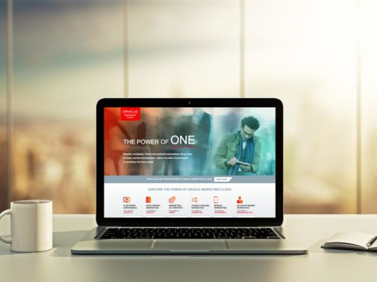 Oracle Pitches 'Power of One' for Marketing Cloud -- Using Its Own Marketing Cloud