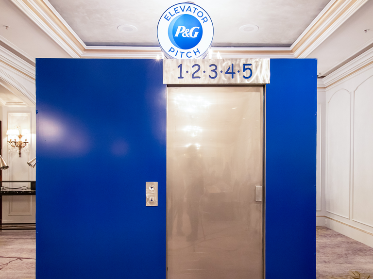 How Procter & Gamble's Elevator Pitch lifts small agencies