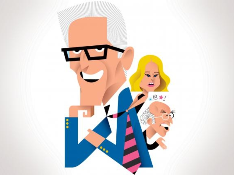 Q&AA: Ted Danson is in his good place