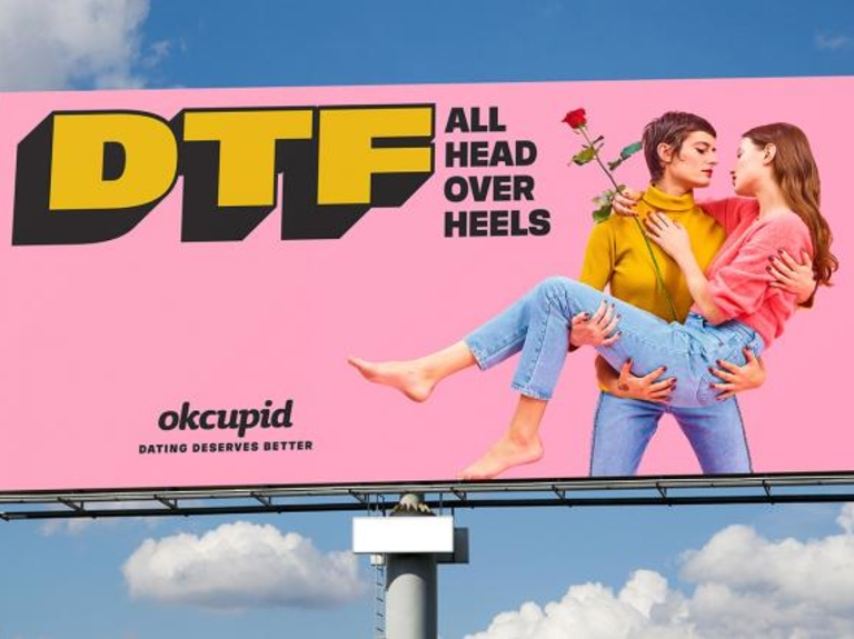 Creativity Award 2019 Craft of the Year: OKCupid, 'DTF'