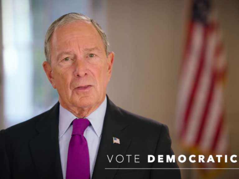 Mike Bloomberg spends $5M on last-minute 'Vote Democratic' ad campaign