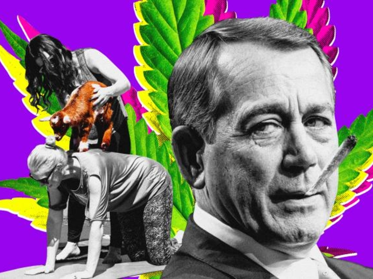 John Boehner, doobies and goat yoga: Welcome to SXSW 2019