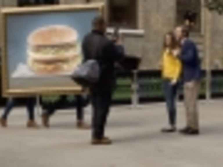 McDonald's Challenges You Not to Get Distracted by a Big Mac