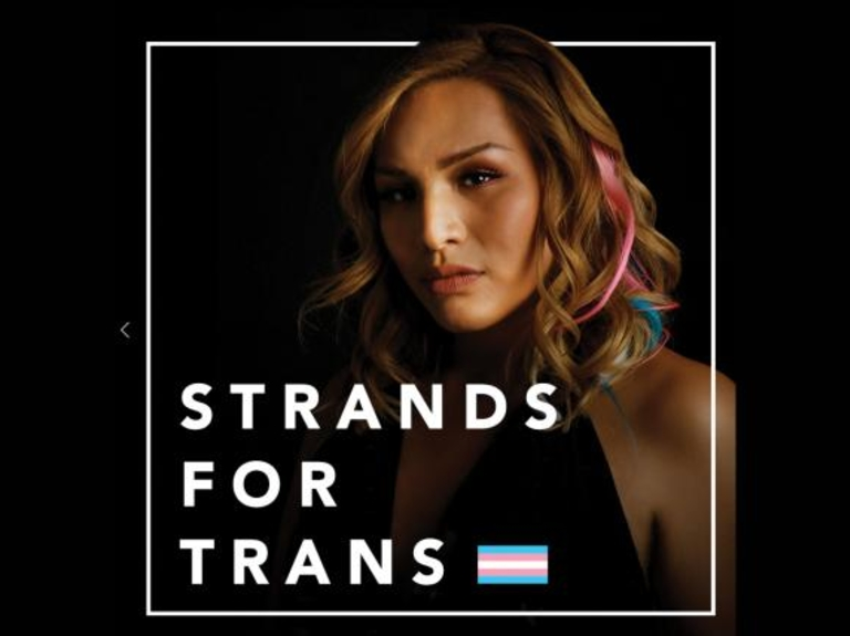 Small Agency Campaign of the Year, B-to-B, Silver: 'Strands for Trans'