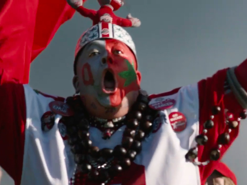 ESPN and director Peter Berg unleash a stampede of college football fans to usher in the playoff | AdAge