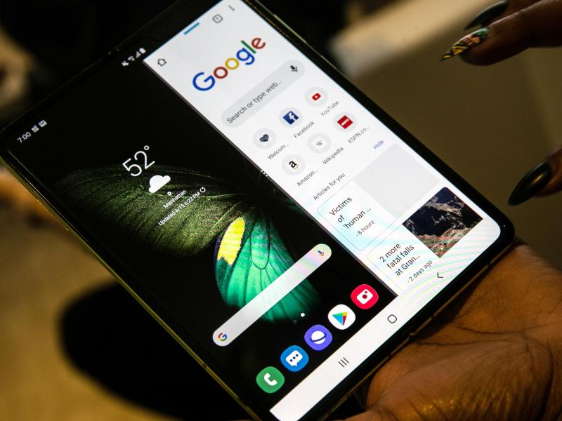 Samsung to delay launch of the Galaxy Fold phone