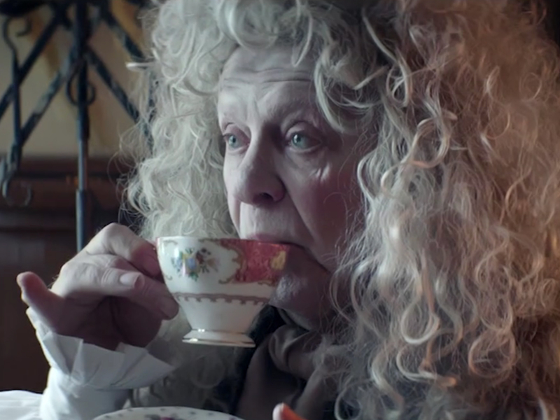 Thomas Twining predicts 21st-century teas in 18th-century-themed ads