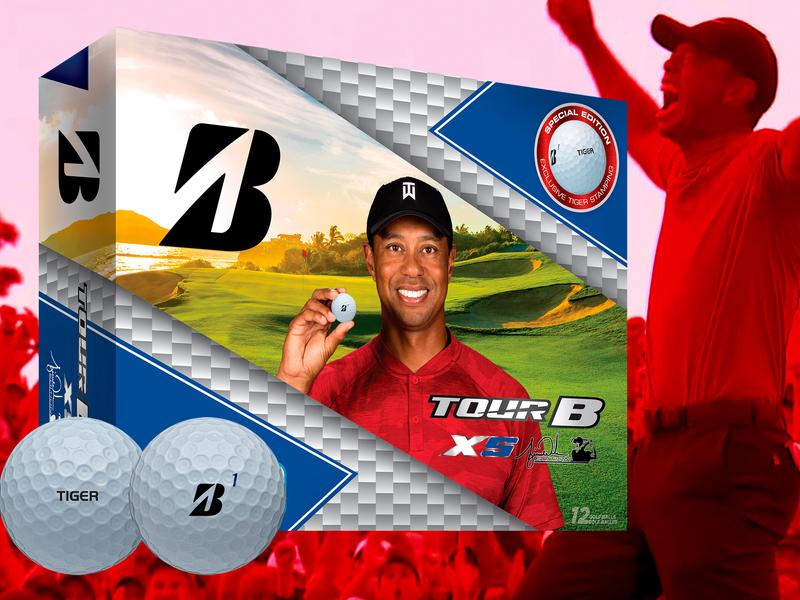 Tiger Woods' Masters-winning golf balls score for sponsor Bridgestone