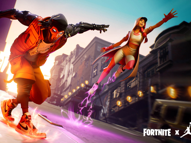 Want Nike's latest Jordans? They're only on Fortnite