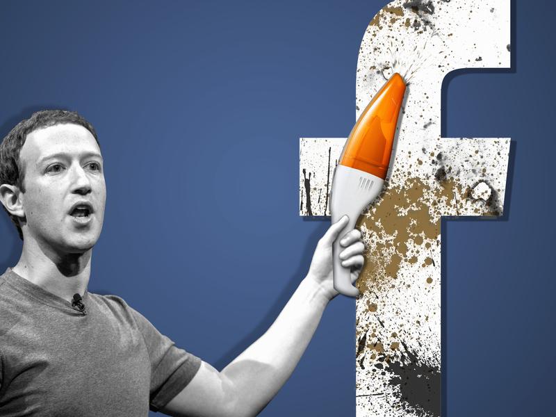 Mark Zuckerberg brushes off 'break up' during Facebook safety check