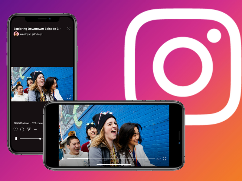 Instagram's IGTV finally gets horizontal video, and advertisers see the potential