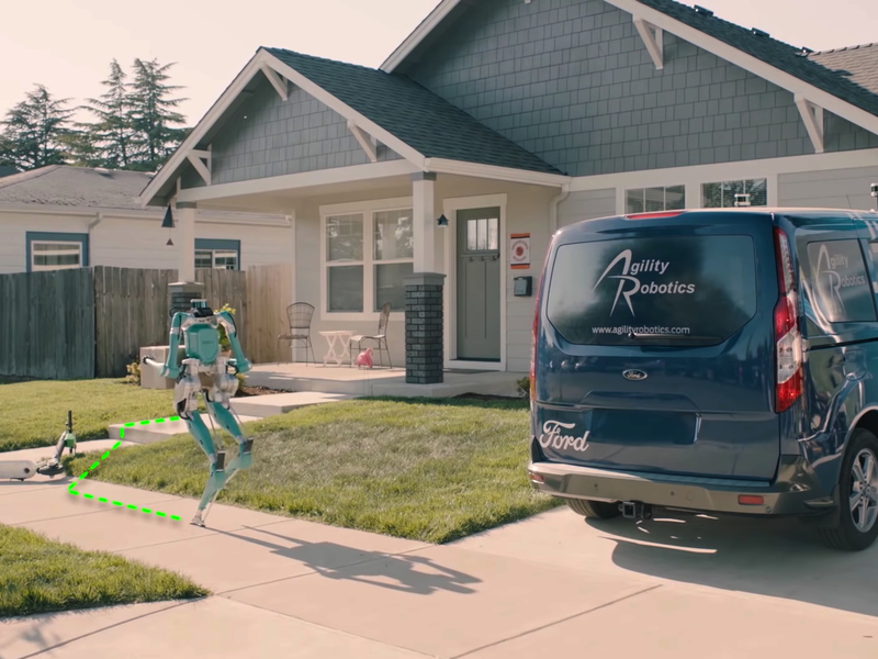 Ford's package-carrying robots could reduce delivery costs by 60 percent